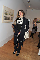 BELLA FREUD at a private view of work by the late Rory McEwen - The Colours of Reality, held at the Shirley Sherwood Gallery, Kew Gardens, London on 20th May 2013.
