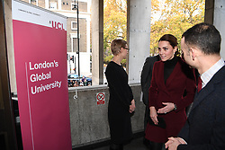November 21, 2018 - London, London, United Kingdom - Duchess of Cambridge visit's UCL. (Credit Image: © Andrew Parsons/i-Images via ZUMA Press)