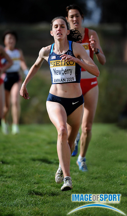 Mar 28, 2009; Amman, JORDAN; Kathy Newberry (USA) was 40th in the women's 8km race in 28:50 in the 37th IAAF World Cross Country Championships at Bisharat Golf Club.
