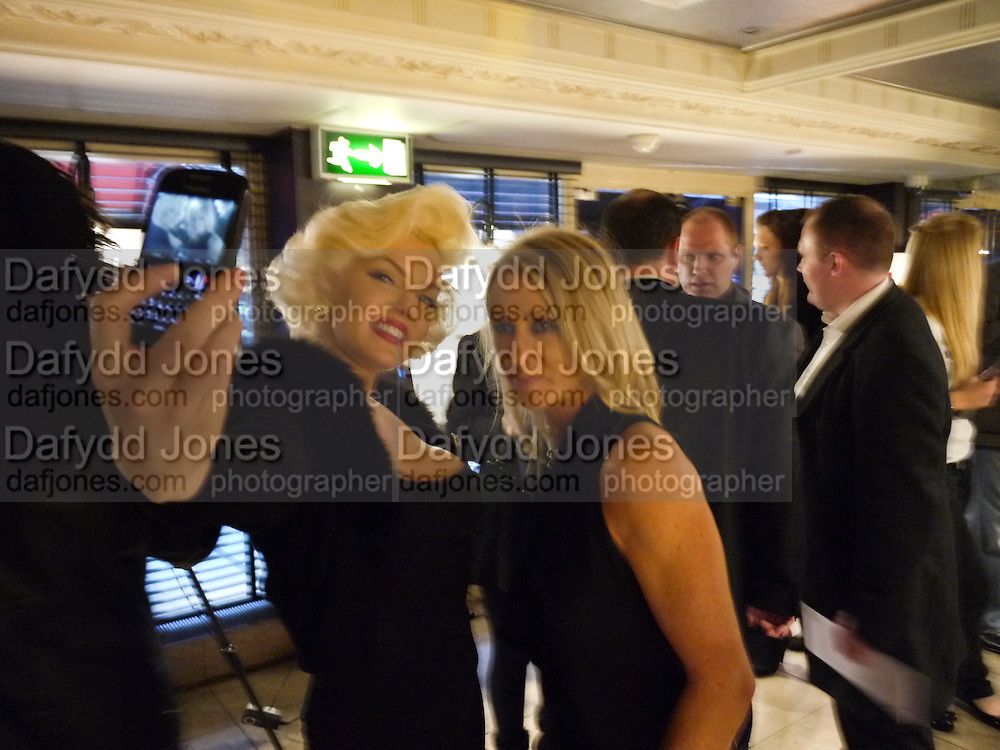 SUZIE KENNEDY; KAREN MILLEN;, Teens;)Unite Fighting Cancer charity art auction. The Embassy Club. 6 April 2010