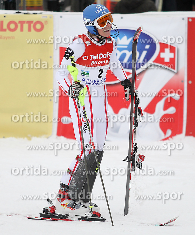 04.02.2011, Arber Zwiesel, GER, FIS World Cup Ski Alpin, Lady, Slalom, im Bild Siegerin Marlies Schild (AUT, #2) // Marlies Schild (AUT) // during FIS Ski Worldcup ladies Slalom at Arber Zwiesel, Germany on 04/02/2011. EXPA Pictures © 2011, PhotoCredit: EXPA/ R. Hackl
