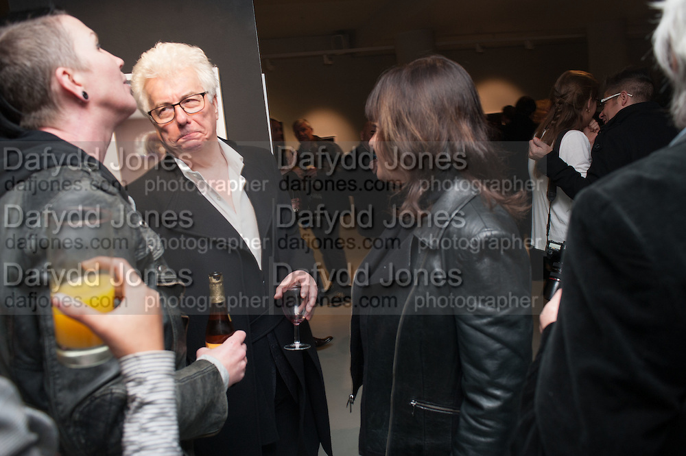 GONNY GLASS; KEN FOLLETT; KEN FOLLETT, , BILL WYMAN - REWORKED' , Photographs by Bill Wyman and reworks by Gerald Scarfe, Pam Glew, Dale Marshall, Penny and James Mylne, Rook & Raven Gallery: 7-8 Rathbone Place, London. 26 February 2013