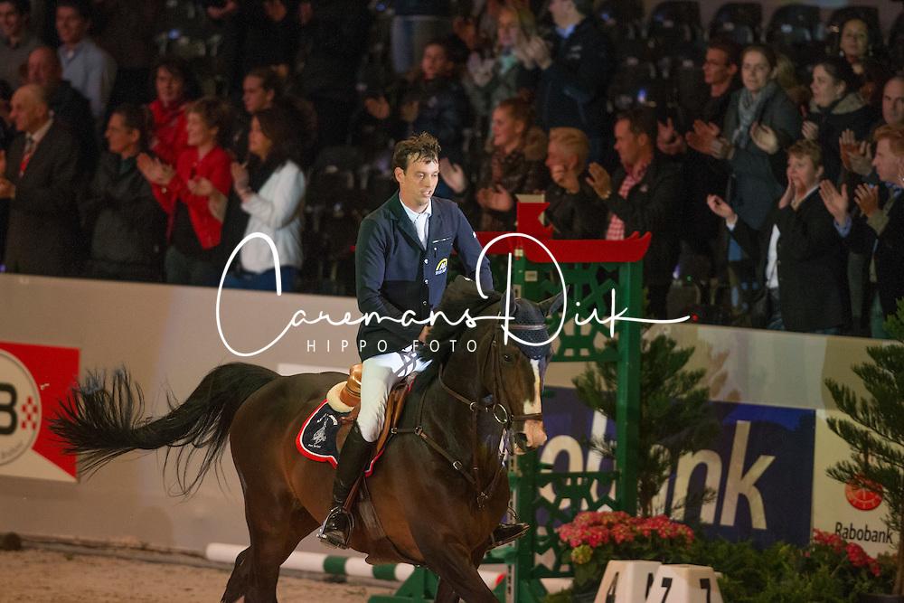 Smolders Harrie (NED) - Exquis Powerfee<br /> Winner s of the City of 's Hertogenbosch price.<br /> CSI-W 'sHertogenbosch 2013<br /> &copy; Dirk Caremans