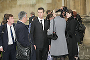 Rupert Everett, Funeral for Isabella Blow. Gloucester Cathedral. 15 May 2007.  -DO NOT ARCHIVE-© Copyright Photograph by Dafydd Jones. 248 Clapham Rd. London SW9 0PZ. Tel 0207 820 0771. www.dafjones.com.