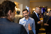 Eyal Ben David of JFrog networks during the Bay Area Corporate Counsel Awards at The Westin San Francisco Airport in Millbrae, California, on March 18, 2019. (Stan Olszewski for Silicon Valley Business Journal)