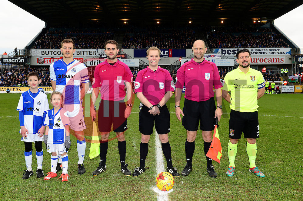 Mascot centre circle photo - Mandatory by-line: Dougie Allward/JMP - 07/01/2017 - FOOTBALL - Memorial Stadium - Bristol, England - Bristol Rovers v Northampton Town - Sky Bet League One