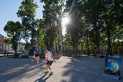 Promotional event 218 days before UEFA Futsal EURO Slovenia 2018, on June 26, 2017 in Ljubljana, Slovenia. Photo by Matic Klansek Velej / Sportida