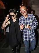 01.OCTOBER.2011. PARIS<br /> <br /> JARED LETO AND TERRY RICHARDSON ARRIVE AT KANYES WEST'S FIRST WONENSWEAR COLLECTION AT PARIS FASHION WEEK<br /> <br /> BYLINE: EDBIMAGEARCHIVE.COM<br /> <br /> *THIS IMAGE IS STRICTLY FOR UK NEWSPAPERS AND MAGAZINES ONLY*<br /> *FOR WORLD WIDE SALES AND WEB USE PLEASE CONTACT EDBIMAGEARCHIVE - 0208 954 5968*