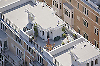 Aerial image of Condominium Unit with Rooftop Patio