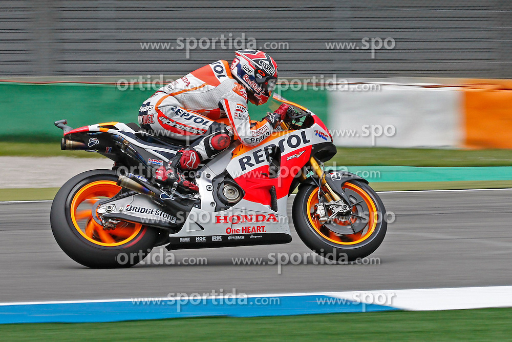 23.09.2012, TT Circuit, Assen, NED, MotoGP, Assen, im Bild 93 Marc Marquez // during the MotoGP Iveco TT Assen at the TT Circuit in Assen, Netherlands on 2012/09/23. EXPA Pictures &copy; 2014, PhotoCredit: EXPA/ Eibner-Pressefoto/ FOTO-SPO_AG<br /> <br /> *****ATTENTION - OUT of GER*****