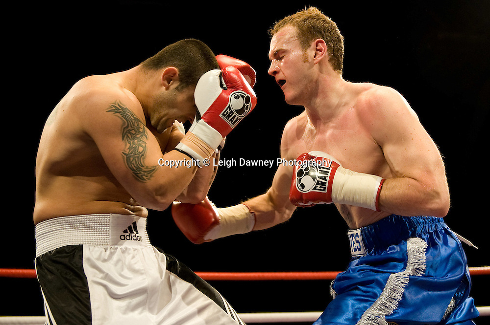 George Groves defeats Grigor Sarohanian at Brentwood Centre 22nd January 2010, Frank Maloney Promotions,Credit: © Leigh Dawney Photography