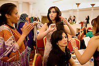 The Afghan and Iranian communities celebrate their New Year with a fashion show and a concert by Price Ali, in Little Kabul, at the Diamond Palace nightclub, in Fremont, Ca, on Saturday, March 21, 2009. Little Kabul is the largest Afghan community in the United States.