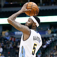20 November 2016: Denver Nuggets guard Will Barton (5) looks to pass the ball during the Denver Nuggets 105-91 victory over the Utah Jazz, at the Pepsi Center, Denver, Colorado, USA.