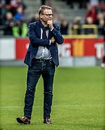 FODBOLD: Direktør Janus Kyhl (FC Helsingør) før kampen i ALKA Superligaen mellem AaB og FC Helsingør den 15. oktober 2017 på Aalborg Stadion. Foto: Claus Birch