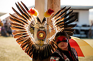 Powwow, kids, Rocky Boy Powwow, Traditional Dancer, Rocky Boy Indian Reservation, Montana.