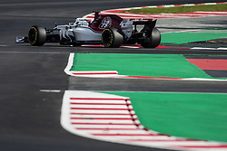 March 9, 2018 - Barcelona, Catalonia, Spain - 16 Charles Leclerc Monaco with Alfa Romeo Sauber F1 Team C37 during day four of F1 Winter Testing at Circuit de Catalunya on March 9, 2018 in Montmelo, Spain. (Credit Image: © Xavier Bonilla/NurPhoto via ZUMA Press)