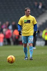Tranmere Rovers' Jason Koumas - Photo mandatory by-line: Nigel Pitts-Drake/JMP - Tel: Mobile: 07966 386802 01/02/2014 - SPORT - FOOTBALL - Stadium MK - Milton Keynes - MK Dons v Tranmere Rovers - Sky Bet League One