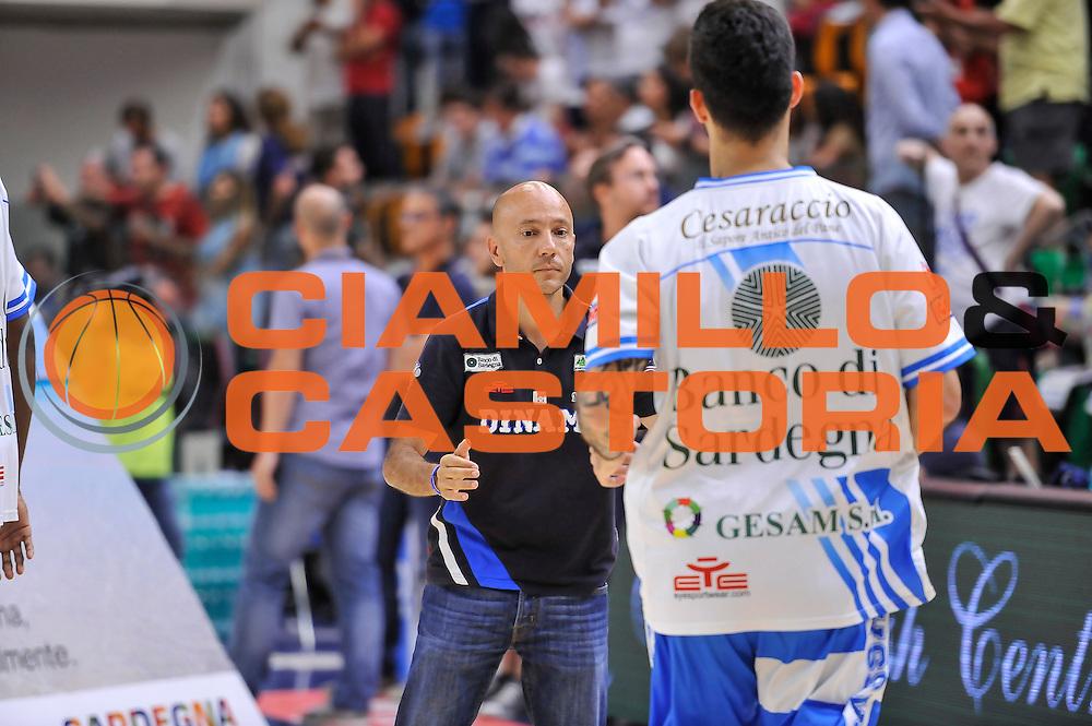 DESCRIZIONE : Campionato 2014/15 Dinamo Banco di Sardegna Sassari - Olimpia EA7 Emporio Armani Milano Playoff Semifinale Gara6<br /> GIOCATORE : Stefano Sardara<br /> CATEGORIA : Before Pregame Fair Play Presidente<br /> SQUADRA : Dinamo Banco di Sardegna Sassari<br /> EVENTO : LegaBasket Serie A Beko 2014/2015 Playoff Semifinale Gara6<br /> GARA : Dinamo Banco di Sardegna Sassari - Olimpia EA7 Emporio Armani Milano Gara6<br /> DATA : 08/06/2015<br /> SPORT : Pallacanestro <br /> AUTORE : Agenzia Ciamillo-Castoria/L.Canu