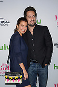 BELLAMY YOUNG (L) and ED WEEKS attend The Mindy Project 100th Episode Party at E.P. & L.P. in West Hollywood, California.