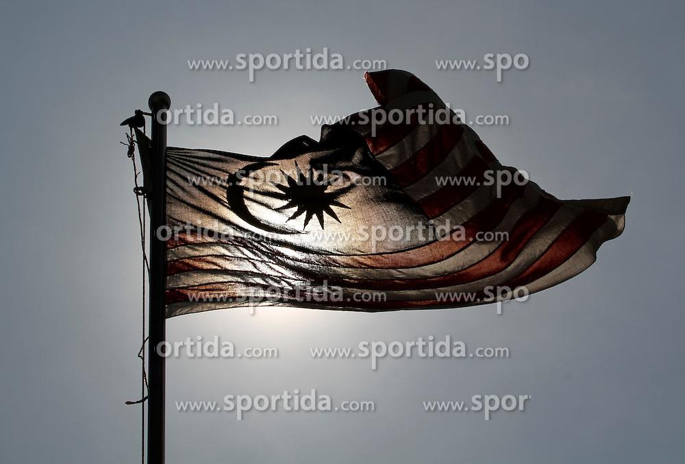 FORMEL 1: Sepang, 01.04.2010<br /> Illustration, Malayische Flagge, Nationalflagge, <br /> &Atilde;'&Acirc;&copy; pixathlon