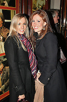 LONDON - November 02: Joanne Froggatt & Amy Nuttall at the Uncle Vanya Press Night (Photo by Brett D. Cove)