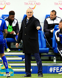 Leicester City Manager Claudio Ranieri points - Mandatory by-line: Matt McNulty/JMP - 24/04/2016 - FOOTBALL - King Power Stadium - Leicester, England - Leicester City v Swansea City - Barclays Premier League