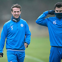 St Johnstone Training….16.12.16<br />