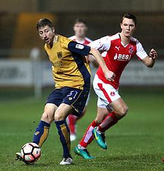 Jens Hegeler of Bristol City - Mandatory by-line: Matt McNulty/JMP - 17/01/2017 - FOOTBALL - Highbury Stadium - Fleetwood,  - Fleetwood Town v Bristol City - Emirates FA Cup Third Round Replay