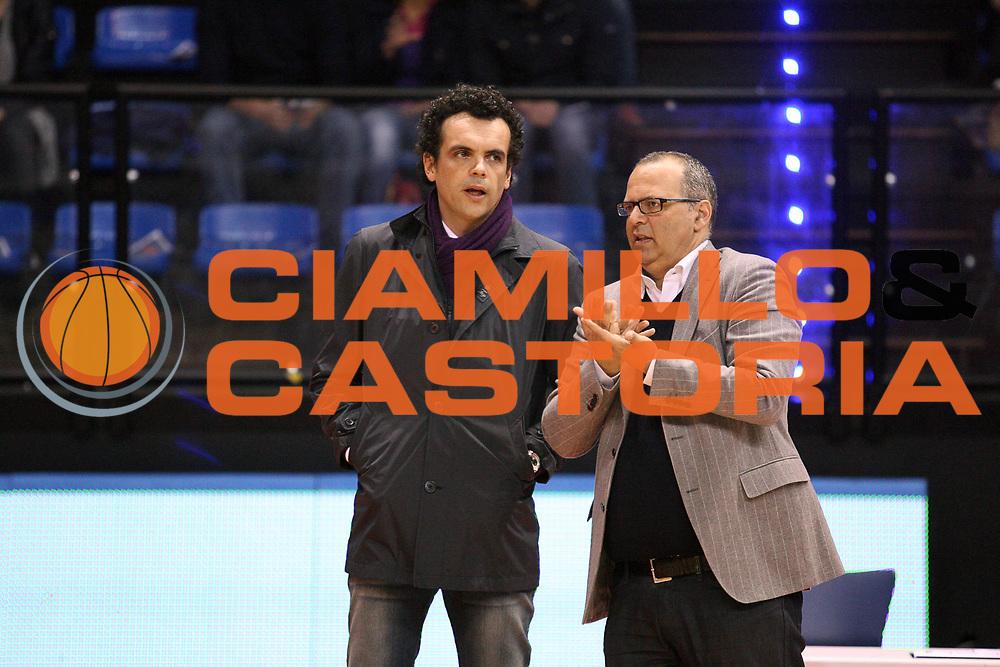 DESCRIZIONE : Biella Lega A 2009-10 Angelico Biella Sigma Coatings Montegranaro<br /> GIOCATORE : Gianmaria Vacirca Marco Atripaldi<br /> SQUADRA : Angelico Biella Sigma Coatings Montegranaro<br /> EVENTO : Campionato Lega A 2009-2010 <br /> GARA : Angelico Biella Sigma Coatings Montegranaro<br /> DATA : 11/04/2010 <br /> CATEGORIA : <br /> SPORT : Pallacanestro <br /> AUTORE : Agenzia Ciamillo-Castoria/S.Ceretti<br /> Galleria : Lega Basket A 2009-2010 <br /> Fotonotizia : Biella Campionato Italiano Lega A 2009-2010 Angelico Biella Sigma Coatings Montegranaro<br /> Predefinita :