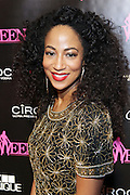 19 November-New York, NY:  Model/Actress/Recording Artist Africa Miranda attends the 4th Annual WEEN (Women in Entertainment Empowerment Network) Awards held at Helen Mills Theater on November 19, 2014 in New York City.  (Terrence Jennings)