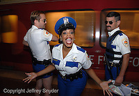 Reno 911 cast member visit Washington, DC