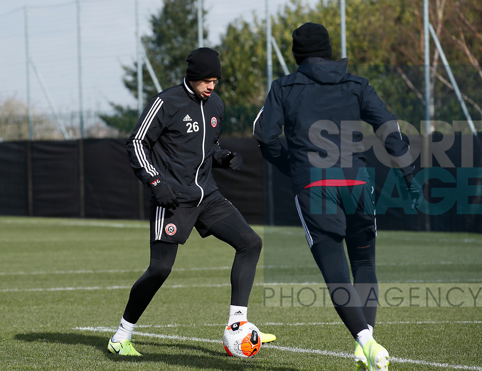 Jack Rodwell of Sheffield Utd during a training session at the Steelphalt Academy, Sheffield. Picture date: 5th March 2020. Picture credit should read: Simon Bellis/Sportimage