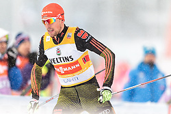 20.02.2016, Salpausselkae Stadion, Lahti, FIN, FIS Weltcup Nordische Kombination, Lahti, Team Sprint, Langlauf, im Bild Johannes Rydzek (GER) // Johannes Rydzek of Germany competes during Cross Country Team Sprint Race of FIS Nordic Combined World Cup, Lahti Ski Games at the Salpausselkae Stadium in Lahti, Finland on 2016/02/20. EXPA Pictures © 2016, PhotoCredit: EXPA/ JFK