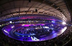 A general view during the Kieren final during day five of the Six Day Series at Lee Valley Velopark, London.