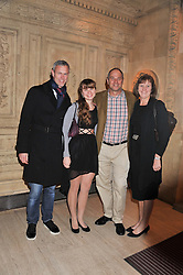 Left to right, MARK FOSTER, SOPHIE REDGRAVE and SIR STEVE & LADY REDGRAVE at Cirque du Soleil's VIP night of Kooza held at the Royal Albert Hall, London on 8th January 2013.