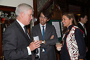 JAMES FURSE; FEI FEI HU; LADY LUCY TANG, LADY LUCY TANG, Dinner in aid of the China Tiger Revival hosted by Sir David Tang and Stephen Fry  at China Tang, Park Lane, London. 1 October 2013. ,