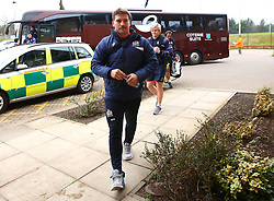 Nick Fenton-Wells of Bristol Rugby arrives at Castle Park for the B&I fixture against Doncaster Knights - Mandatory by-line: Robbie Stephenson/JMP - 13/01/2018 - RUGBY - Castle Park - Doncaster, England - Doncaster Knights v Bristol Rugby - B&I Cup