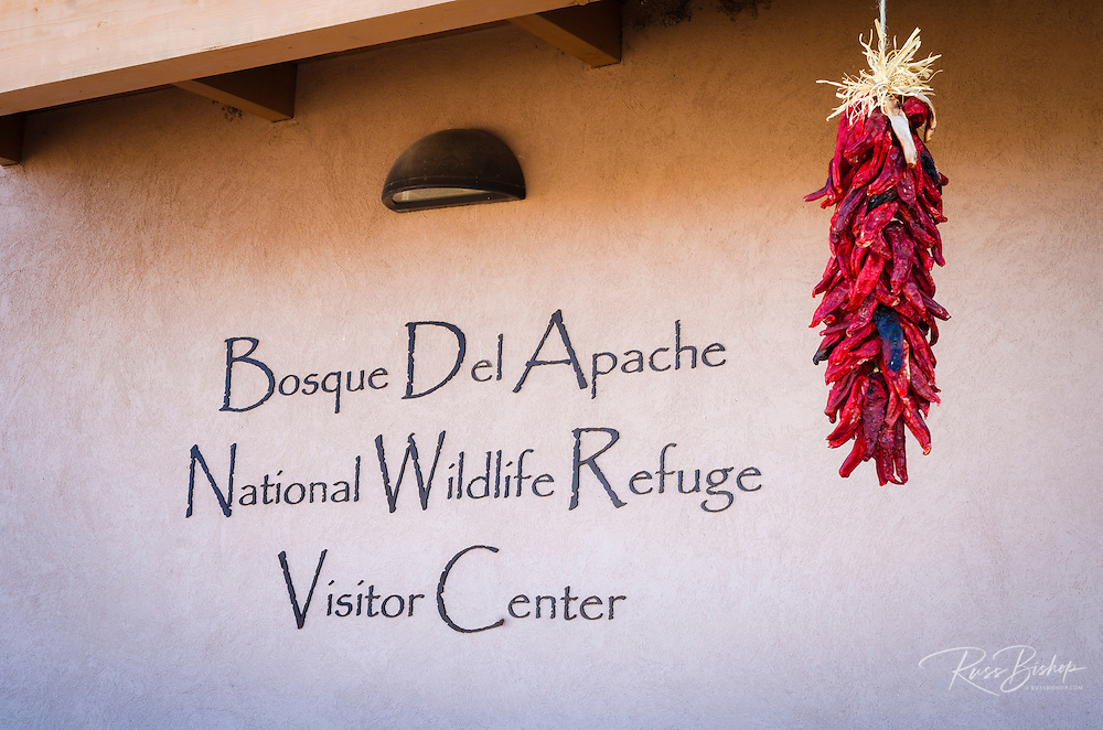 Visitor center at Bosque del Apache National Wildlife Refuge, New Mexico