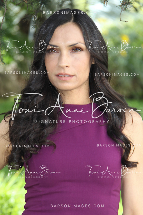 CANNES, FRANCE - APRIL 09:  Famke Janssen attends 'Hemlock Grove' Photocall during MIPTV at the Majestic Hotel on April 9, 2013 in Cannes, France.  (Photo by Tony Barson/Getty Images) *** Local Caption *** Famke Janssen