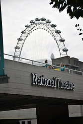 National Theatre & London Eye, London UK