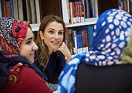 Queen Rania Promotes Women and Arab Causes