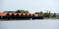 20130814 Kanonbådsskurene og U-bådshallen på Holmen