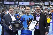 DESCRIZIONE : France Hand D1 Championnat de France D1 a Toulouse<br /> GIOCATORE : Anouar AYED 1000 buts<br /> SQUADRA : Toulouse<br /> EVENTO : FRANCE Hand D1<br /> GARA : Toulouse Paris<br /> DATA : 19/10/2011<br /> CATEGORIA : Hand D1 <br /> SPORT : Handball<br /> AUTORE : JF Molliere <br /> Galleria : France Hand 2011-2012 Action<br /> Fotonotizia : France Hand D1 Championnat de France D1 a Paris <br /> Predefinita :