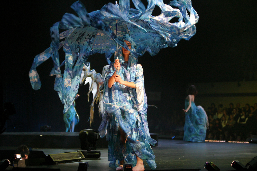 The World of Wearable Arts Awards at the TSB Bank Arena in Wellington.