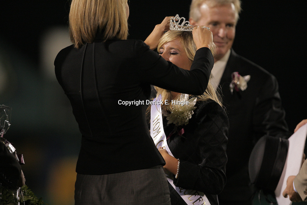 10 October 2008: Shelby Driscoll The St. Thomas Falcons defeated the Springfield Bulldogs 49-22 on homecoming night at Strawberry Stadium in Hammond, LA.