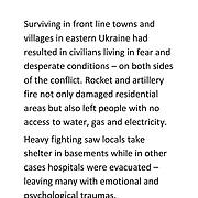 Ukraine - Frontline People
