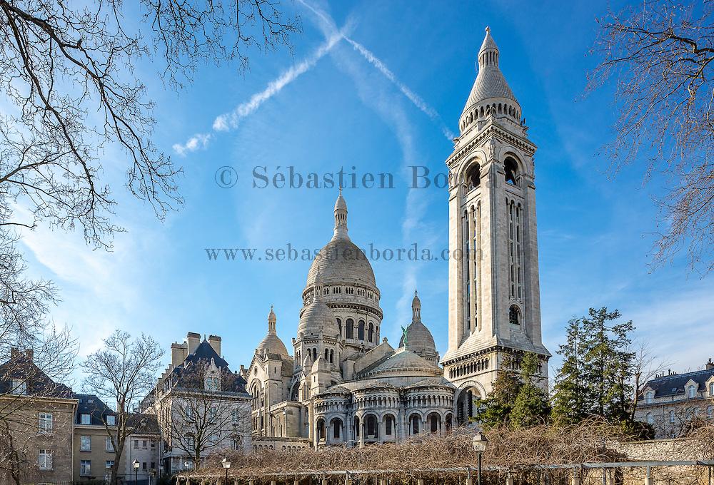 Basilique du Sacré-coeur de Montmartre // Sacré-coeur basilica of Montmartre