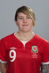 TREFOREST, WALES - Tuesday, February 14, 2011: Wales' Laura-May Walkley. (Pic by David Rawcliffe/Propaganda)