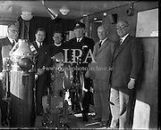 Reception on Board Lily of Cork.<br /> 26.05.1961