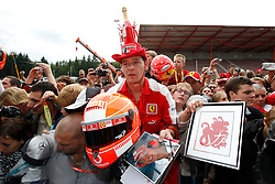 Motorsports / Formula 1: World Championship 2010, GP of Belgium, fans